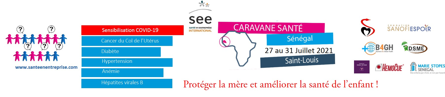 BANNER CARAVANE 2 SENEGAL